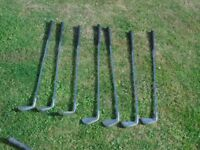 Golf Clubs , Dunlop Vista Irons missing 7 & pitching wedge