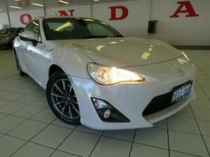 2013 Toyota 86 ZN6 GT White 6 Speed Auto Sequential Coupe Osborne Park Stirling Area Preview