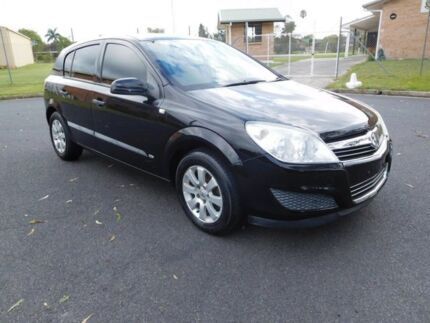 2008 Holden Astra AH MY08.5 60th Anniversary Black 4 Speed Automatic Hatchback