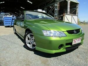 2003 Holden Commodore VY II S Green 4 Speed Automatic Sedan Yeerongpilly Brisbane South West Preview