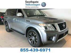 2017 Nissan Armada PLATINUM | LEATHER | DVD | HEATED SEATS