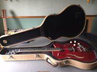 Hofner HVSC-R Semi-Acoustic Guitar - Mint condition