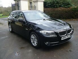 2010 60 Reg BMW 520D 2.0 SE Touring with Leather and Bluetooth