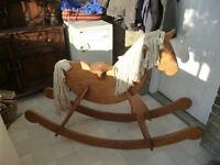 WoodenRocking Horse