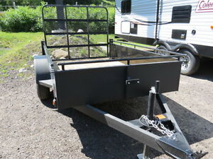 NEW 5 x 8 UTILITY TRAILER w/RAMP *CLEARANCE*