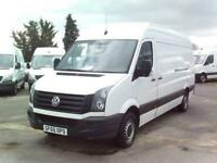 Volkswagen Crafter CR35 LWB 2.0 136PS H/R EURO 5 DIESEL MANUAL WHITE (2015)