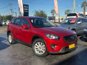 2014 Mazda CX-5 KE1071 MY14 Maxx Sport Red Sports Automatic Wagon Lansvale Liverpool Area Preview