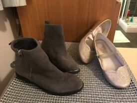 Next boots and Monsoon shoes size 2