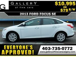 2013 Ford Focus SE $79 BI-WEEKLY APPLY NOW DRIVE NOW