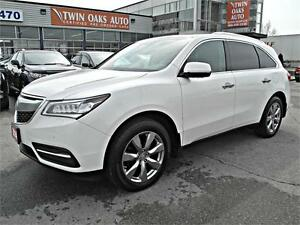 2014 Acura MDX Elite Pkg  AWD-NAVI - DVD - COLLISION WARNING