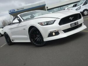 2017 Ford Mustang FM 2017MY GT SelectShift White 6 Speed Sports Automatic Convertible Strathmore Heights Moonee Valley Preview