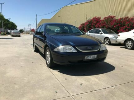 2000 Ford Falcon Auii Futura Blue 4 Speed Automatic Sedan Newport Hobsons Bay Area Preview