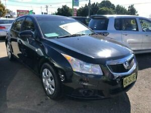 2012 Holden Cruze JH Series II MY12 CD Black Manual Hatchback Lidcombe Auburn Area Preview