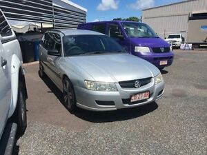 2005 Holden Commodore Silver 4 Speed Auto Active Select Wagon Hidden Valley Darwin City Preview