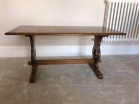 Preloved Solid Dark Oak Coffee Table