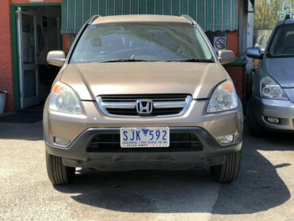 2003 Honda CR-V MY03 (4x4) Gold 4 Speed Automatic Wagon Werribee Wyndham Area Preview