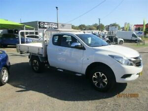 2016 Mazda BT-50 MY16 XTR (4x4) White 6 Speed Automatic Freestyle Utility Heatherbrae Port Stephens Area Preview