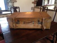 Vintage Suitcase Prop/Storage/Coffee Table.