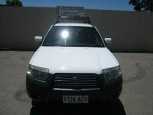 2006 Subaru Forester MY06 X Pure White 5 Speed Manual Wagon Windsor Gardens Port Adelaide Area Preview