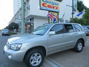 2004 Toyota Kluger MCU28R CV (4x4) Silver 5 Speed Automatic Wagon Southport Gold Coast City Preview
