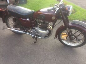 Ariel Huntmaster 650cc Motocycle 1954