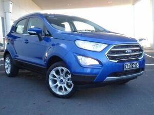 2018 Ford Ecosport BL Titanium Blue 6 Speed Automatic Wagon Strathmore Heights Moonee Valley Preview
