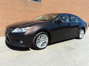 2014 Lexus ES 350 ULTRA PREMIUM NAVIGATION PANO ROOF SAFETY INCL