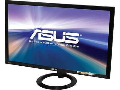 "شاشة ليد جديد ASUS VX248H Black 24"" 1ms (GTG) HDMI Widescreen LED Backlight LCD Monitor"