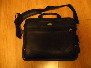 "New Targus leather 14""  laptop case for sale.  REDUCED $"