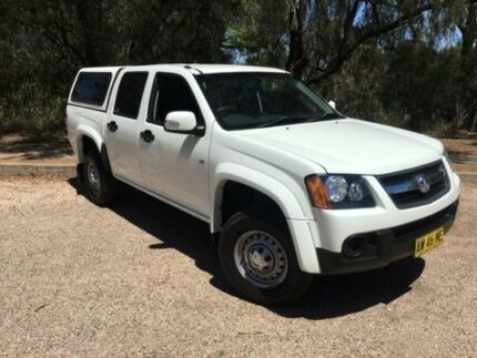 2008 Holden Colorado RC LX (4x2) White 4 Speed Automatic Crew Cab Pickup