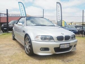 2004 BMW M3 E46 Silver 6 Speed Sequential Manual Convertible Wangara Wanneroo Area Preview