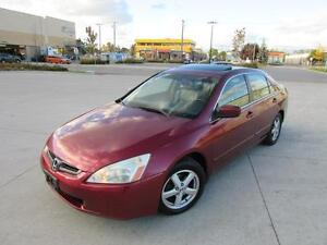 2003 HONDA ACCORD EX-L *AUTOMATIC,LEATHER,SUNROOF,4 CYLINDER!!!*