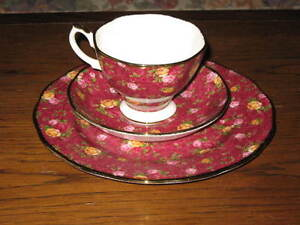 Royal Albert Tea cup, saucer and plate