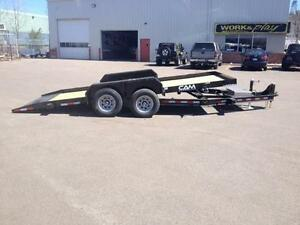"New 2016 Cam Superline 81"" x 18' Full Tilt Trailer"