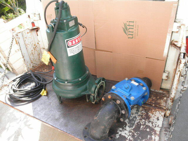 Zoeller 12.7 BHP 3 PH 230 V F6670 B sump pump.  Can ship email address for cost