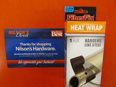 Fiber Fix 2 In. x 70 In. Heat Wrap Repair Tape, Muffler, Broiler, Exhaust Repair