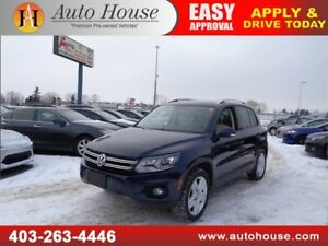 2015 VW TIGUAN LOW KM LEATHER NAVI B CAM REMOTE START 2SET TIRES