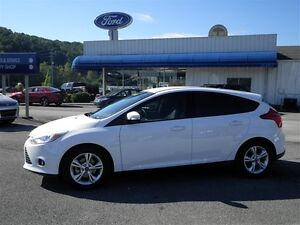 2013 Ford Focus Hatchback WHITE