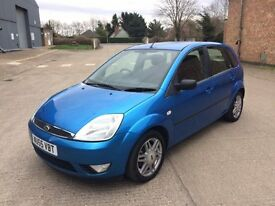 Ford Fiesta 1.4 Ghia (2005) - 83,000 Miles - Petrol/Manual - 5 door Hatch - FSH + Cambelt -Warranty