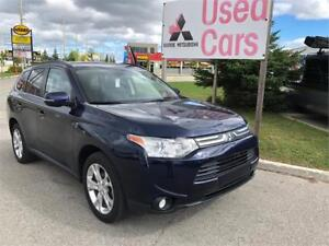 2014 Mitsubishi Outlander GT S-AWC *V6 *LEATHER *WARRANTY
