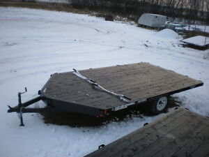 For Sale- New - Rainbow Snowmobile -  ATV - Quad Trailer
