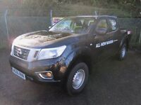 Nissan Navara Double Cab Pick Up Visia 2.3dCi 160 4WD (black) 2016