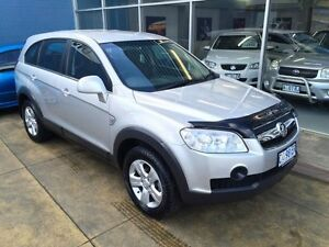 2009 Holden Captiva CG MY09.5 SX (4x4) Silver 5 Speed Automatic Wagon Hobart CBD Hobart City Preview