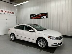 2014 Volkswagen CC Sportline LEATHER/PANO ROOF/B.CAM/LOW KM!!!