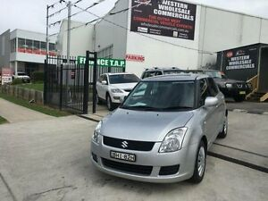 2008 Suzuki Swift EZ 07 Update Silver 5 Speed Manual Hatchback St Marys Penrith Area Preview