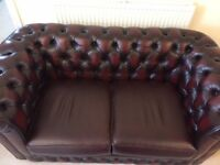Leather sofa _ now reserved subject to collection.