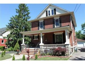 Stunning Character home for rent in heart of Downtown Welland!