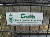 CRUFTS THE FREEDOM PLAY PEN