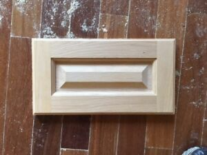 solid Oak (unfinished) drawer or kitchen cabinet fronts
