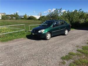 2003 TOYOTA ECHO AUTOMATIC 114000KM CLEAN E-TEST CERTIFIED